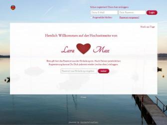 Hochzeitswebsite München Weddinghelfer